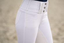 HORZE WHITE COMPETITION  DESIREE BREECHES -RRP £84.95 - SALE